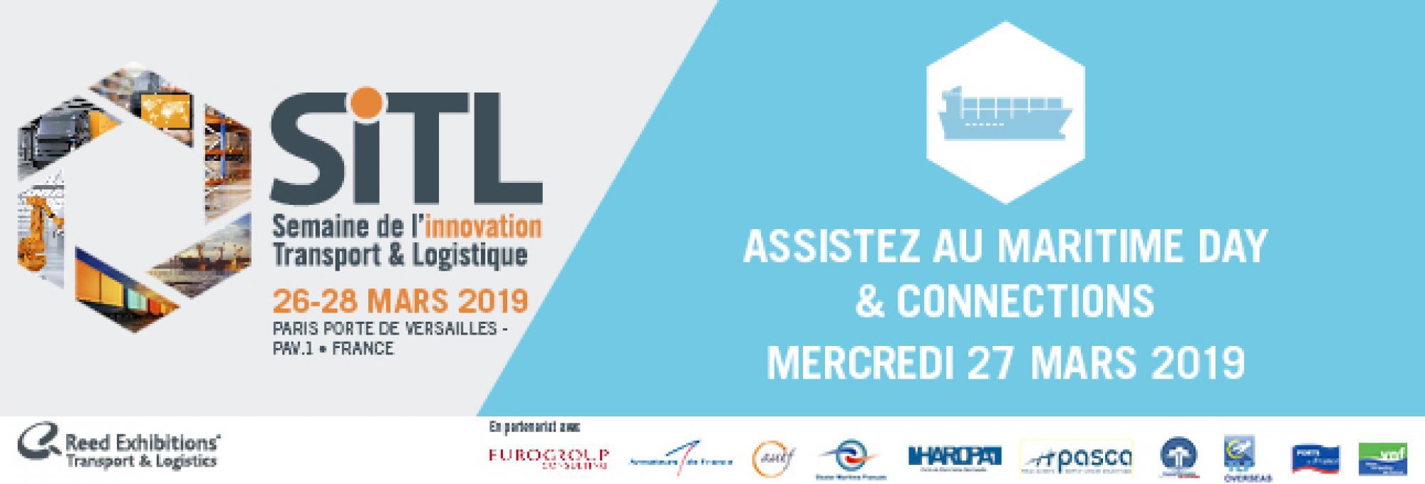 SITL du 26 au 28 mars 2019 à Paris