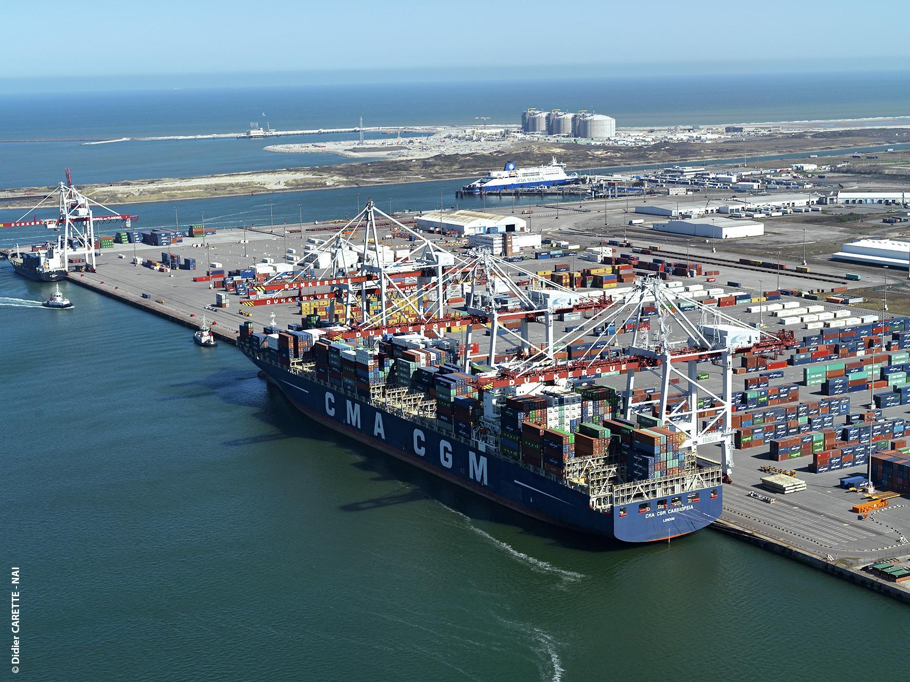 Grand port maritime de dunkerque port de france - Chambre des commerces dunkerque ...